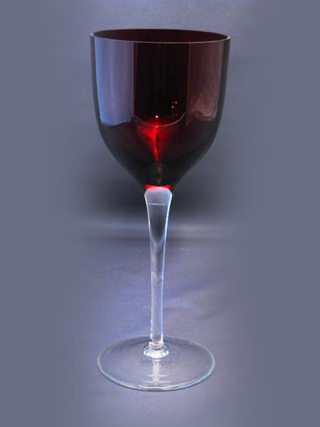 Gelosia-Red-Wine-Glass-with-Clear-Stem-and-Foot