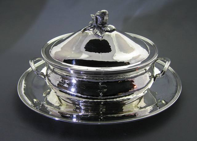 Sterling Silver Soup Tureen